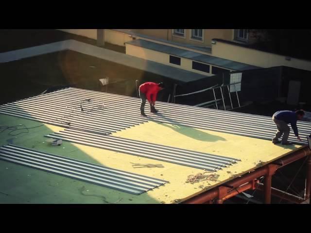 Shigeru Ban  e o Pavilhão IE Paper / 2 semanas de montagem em 2 minutos
