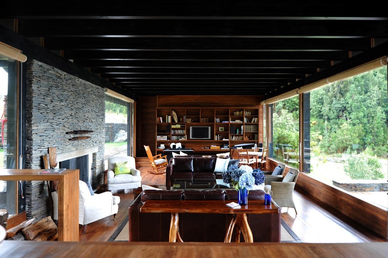 House at lake rupanco archdaily - Idea casa biancheria mestre ...