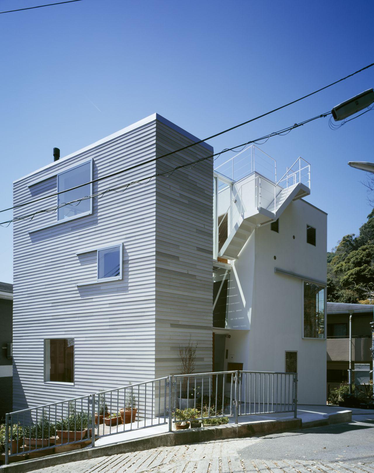 Tato house archdaily for Casa moderna japonesa