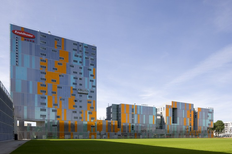 Architectural and urban redevelopment site in Nantes Saupin, © Stéphane Chalmeau