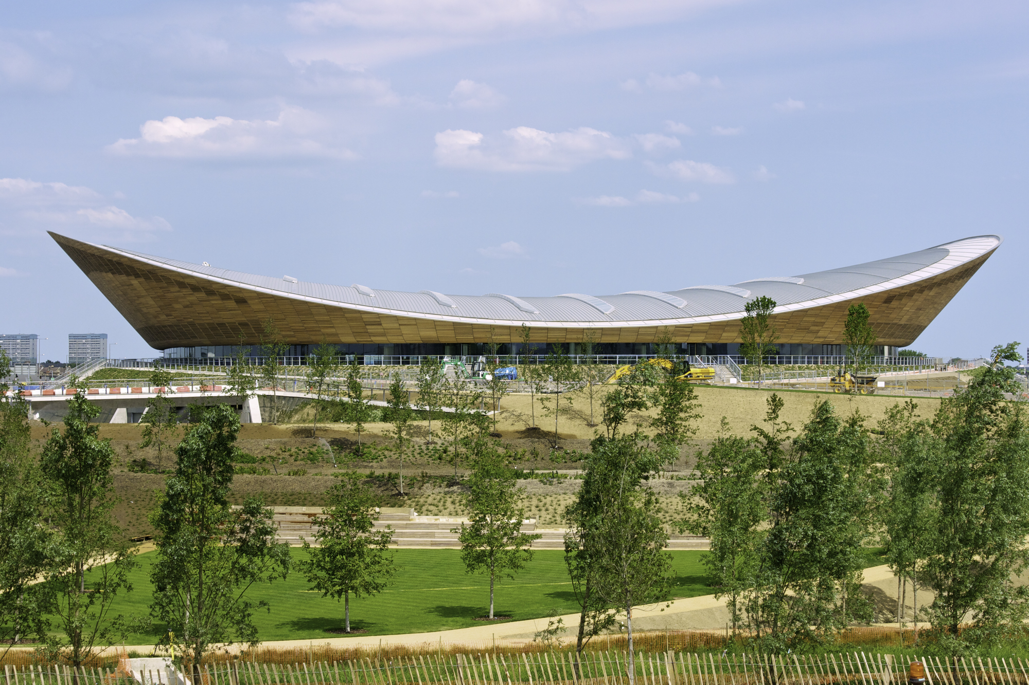 London 2012 Velodrome / Hopkins Architects, © Anthony Palmer