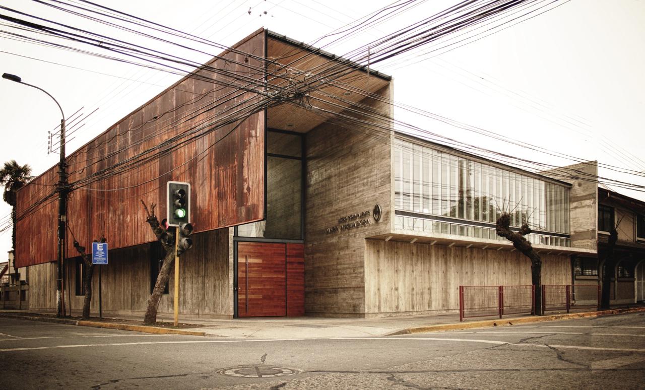 Curricular administrative building Lycée María Auxiliadora / SURco, Courtesy of SURco