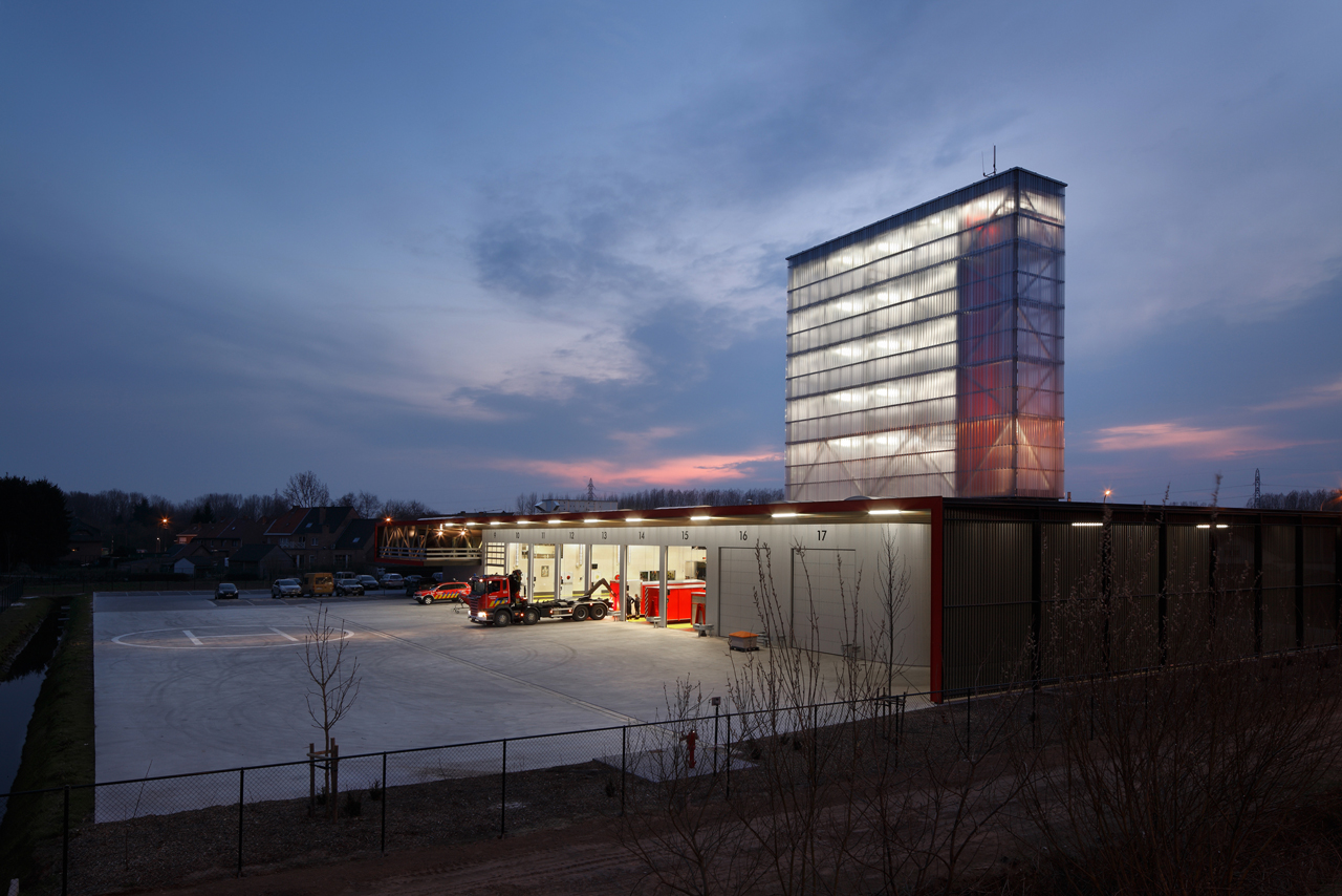 Gallery Of Firestation For The City Of Puurs Compagnie O