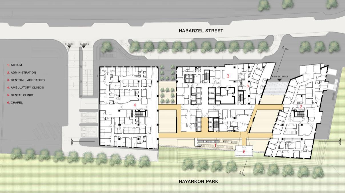 Gallery Of Assuta Medical Center Zeidler Partnership Architects Moore Architects M Brestovisky Architects 9