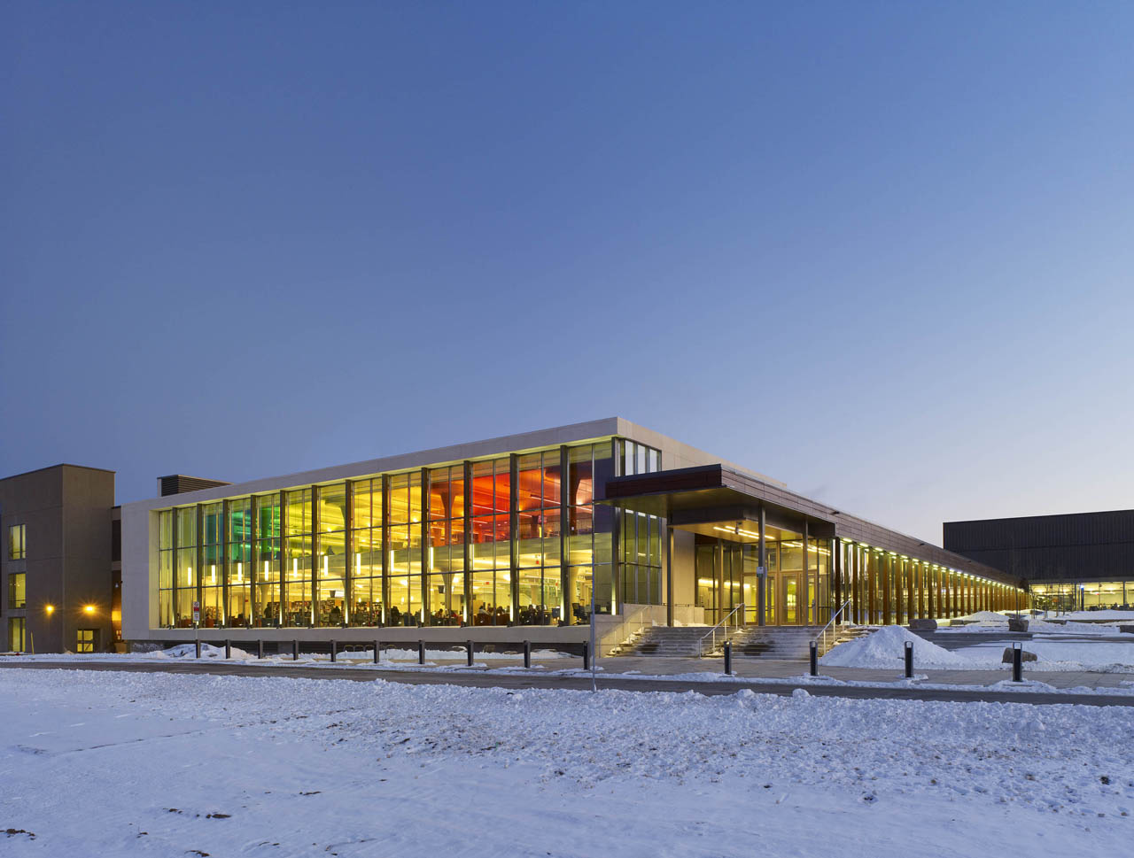 Mohawk College Zeidler Partnership Architects Archdaily