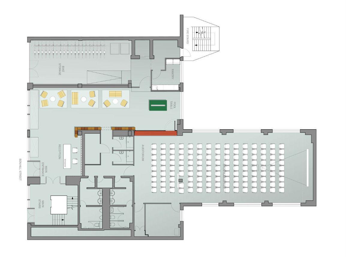 Google Campus Jump Studios Ground Floor Plan