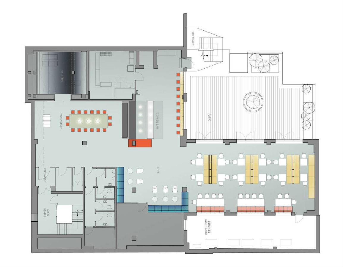 Google Campus Jump Studios Lower Ground Floor Plan