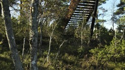 Forest Stair in Stokke / Saunders Architecture