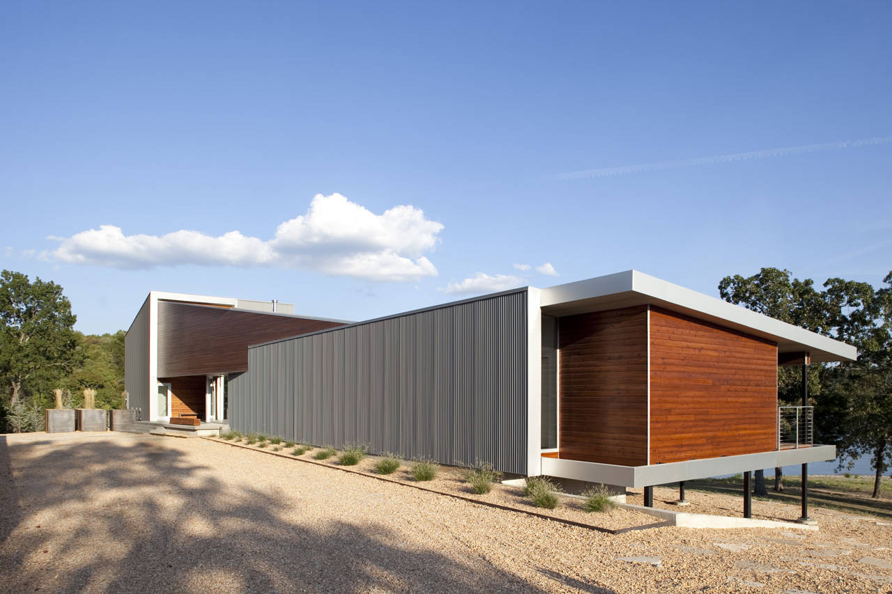 Postcard House Hufft Projects Archdaily