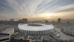 Estadio olímpico de Kiev / gmp Architekten
