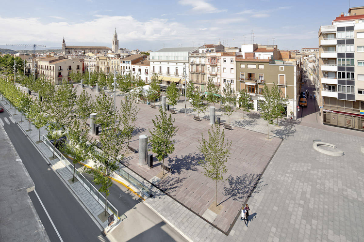 Rambla Vilafranca / Vora Arquitectura, © Adrià Goula