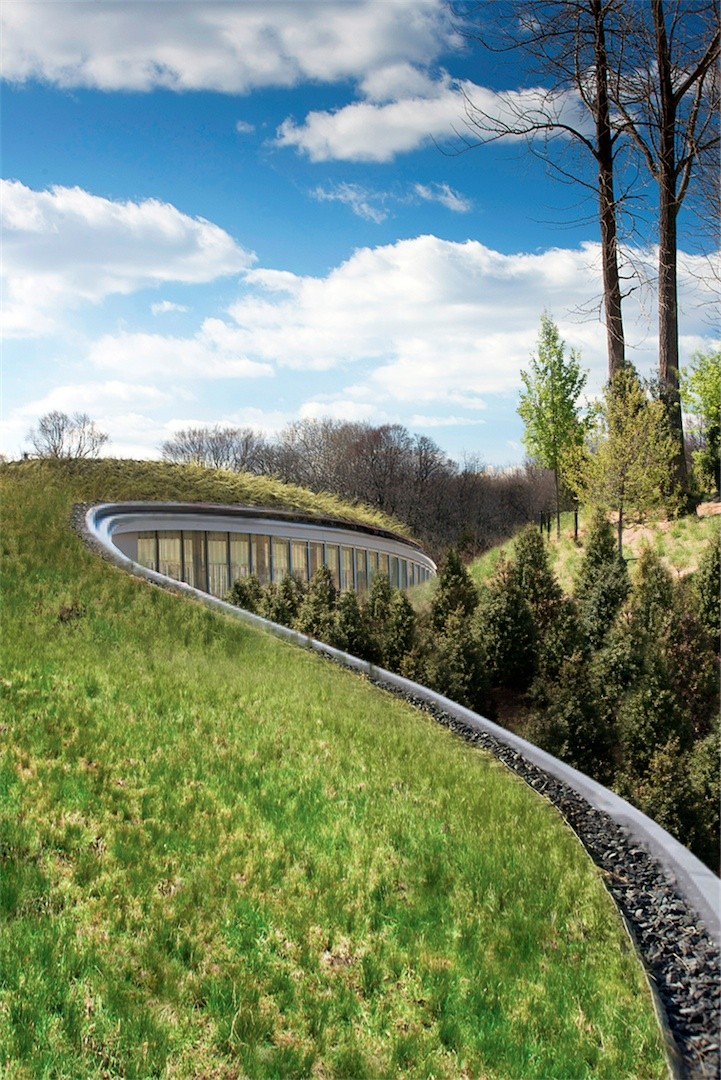 Brooklyn Botanic Garden Visitor Center Weiss Manfredi Archdaily