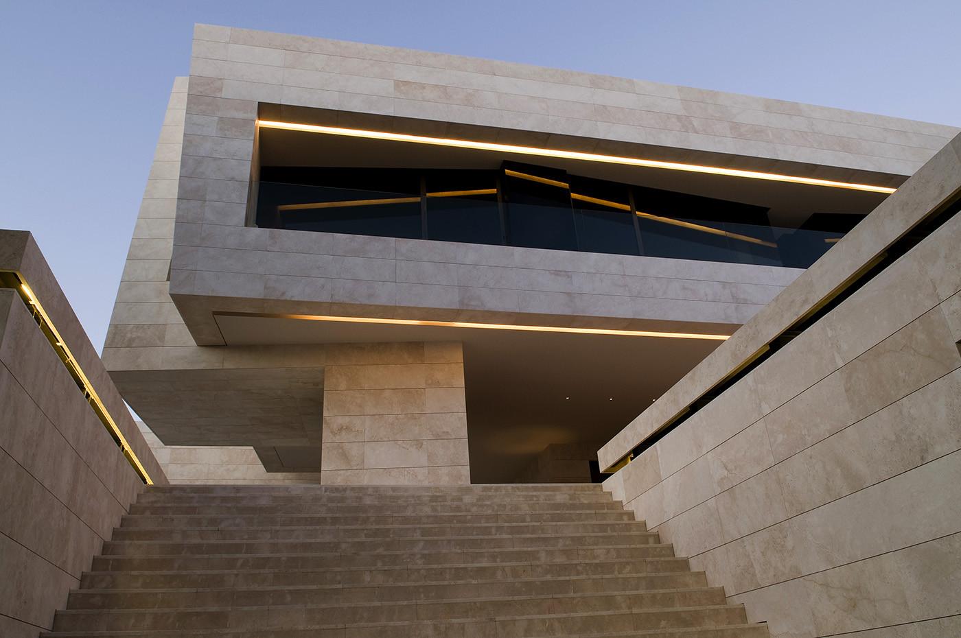 Gallery of single family property in marbella a cero 11 - Aplacado piedra fachada ...