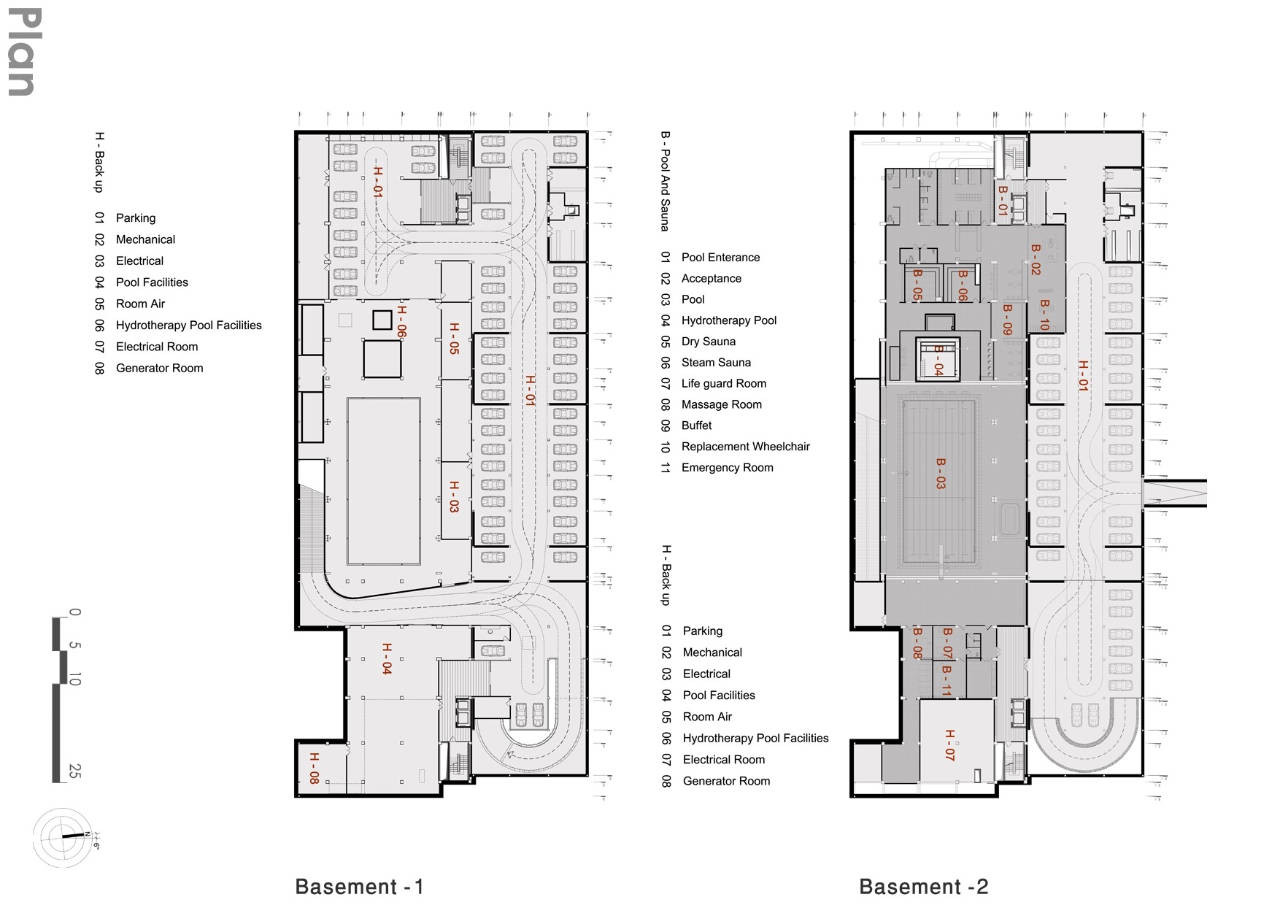 Gallery of cultural sport complex for disabled experimental branch of architecture 35 for Sports complex planning design