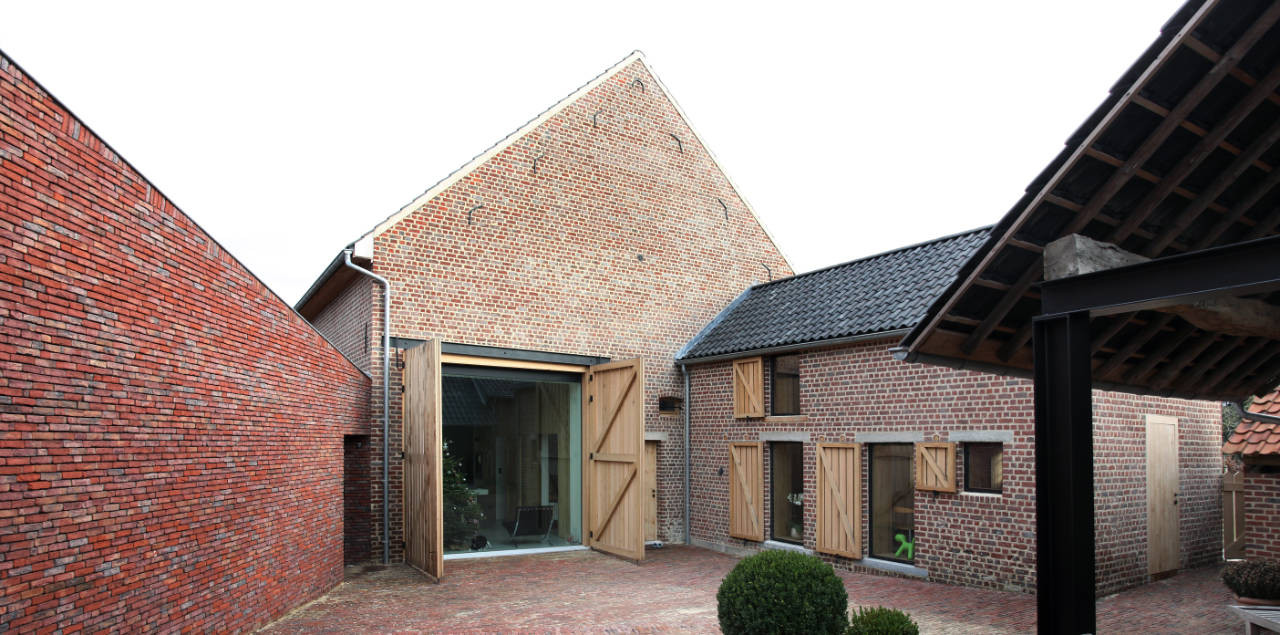 House DM / Lensass Architects, © Philippe van Gelooven