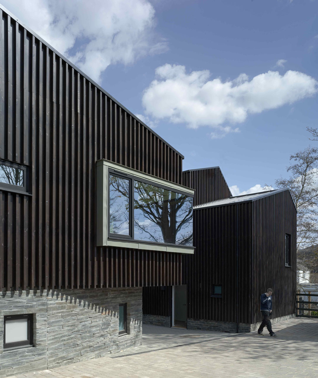 Stillpoint Clinic and Dojo / Mitchell Taylor Workshop + Piers Taylor, © Peter Cook