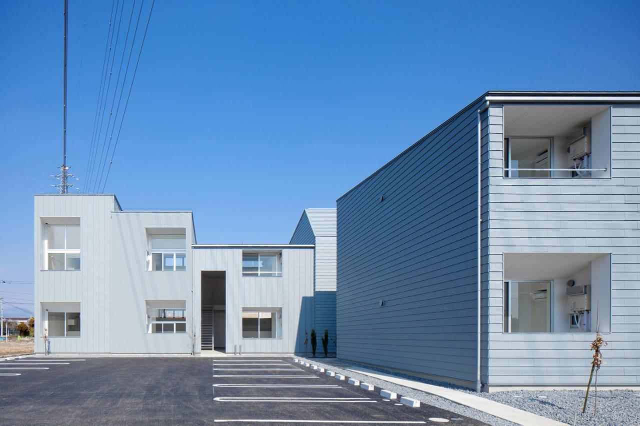 Ridge Apartment Complex in Gunma / SNARK + OUVI, © Ippei Shinzawa