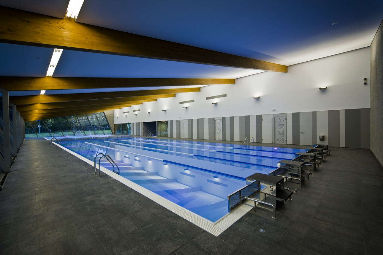 Gallery Of Indoor Swimming Pool In Litomy L Architekti