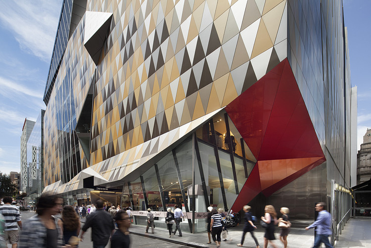 Myer Bourke Street Redevelopment / NH Architecture, © John Gollings