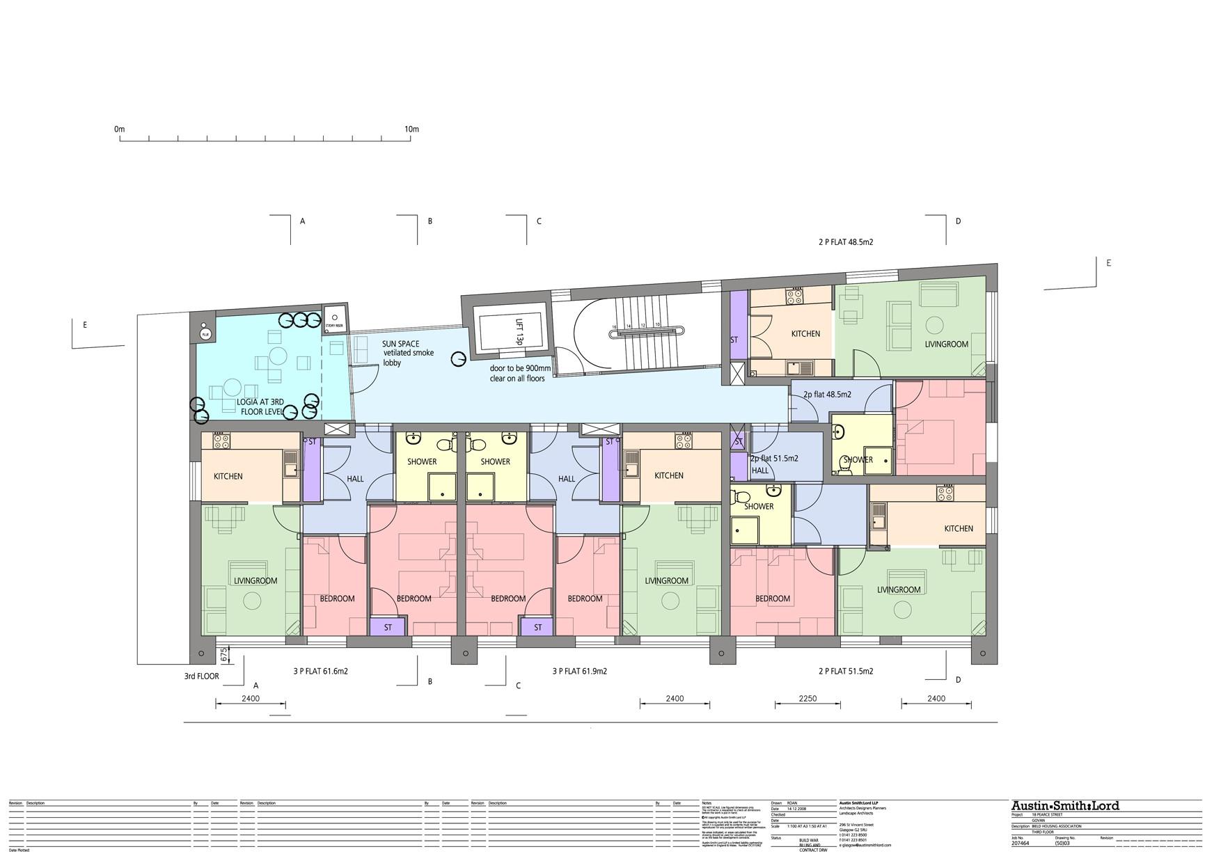 Gallery of pearce street govan austin smith lord 7 for Floor plans brown university