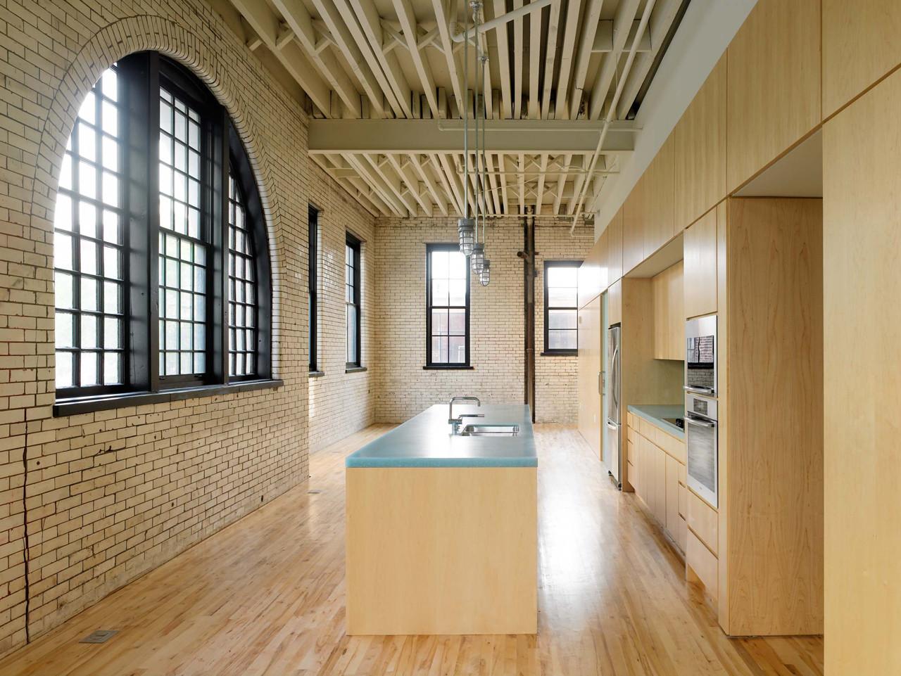 Yale Steam Laundry Condominiums / John Ronan Architects, © Nathan Kirkman