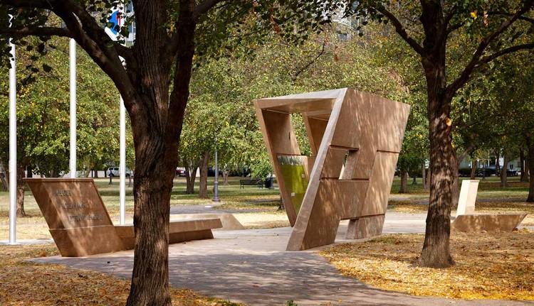 Missouri Korean War Veterans Memorial / Tilt-Up Concrete Association, © Dror Baldinger, Courtesy of Powers Brown Architecture