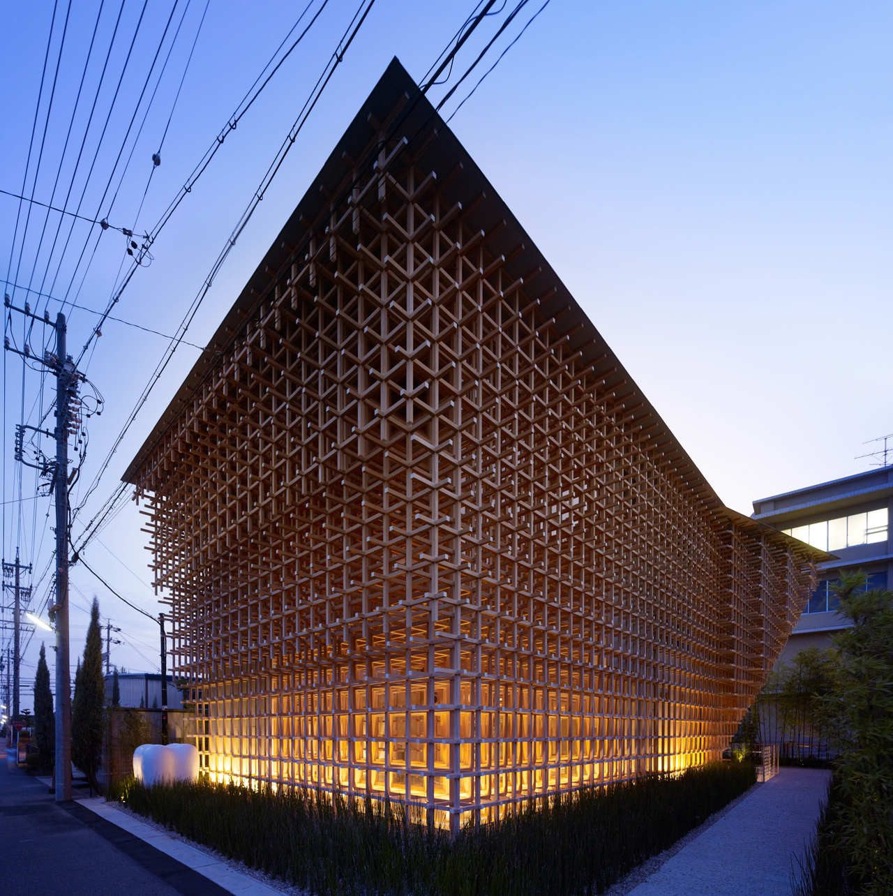 GC Prostho Museum Research Center / Kengo Kuma & Associates, © Daici Ano