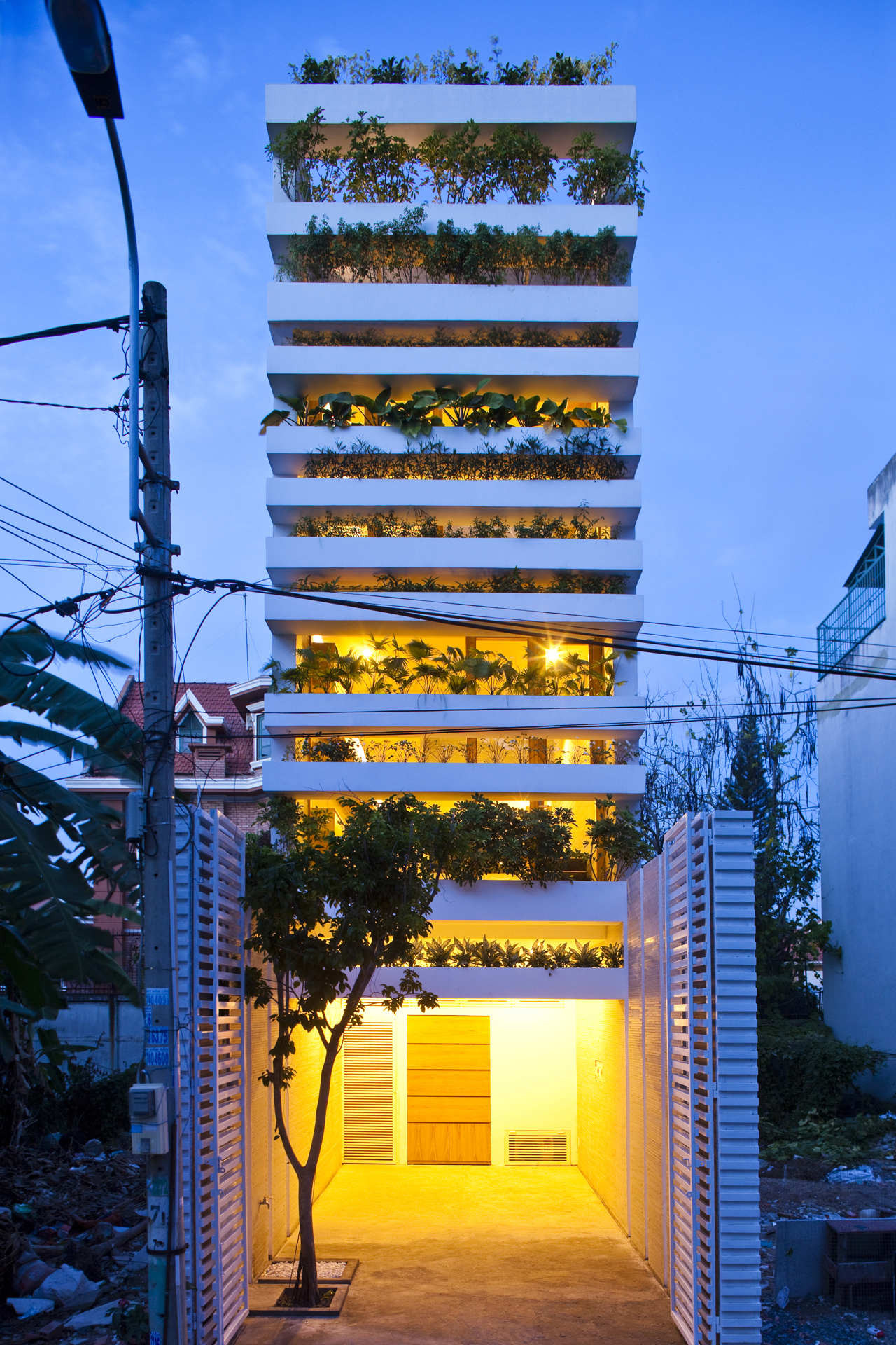 Gallery Of Stacking Green VTN Architects 12 Magnificent Stacking Green Vo Trong Nghia Daisuke Sanuki Shunri Nishizawa