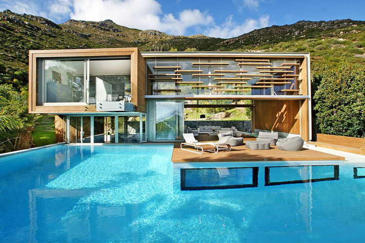 Spa house metropolis design archdaily