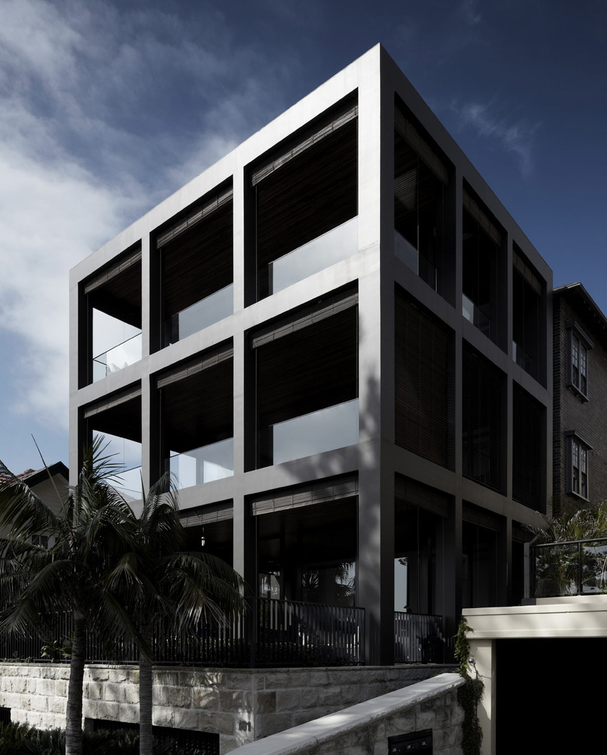 Bower Street Apartment Building Katon Redgen Mathieson Archdaily