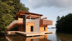 Muskoka Boathouse / Christopher Simmonds Architect