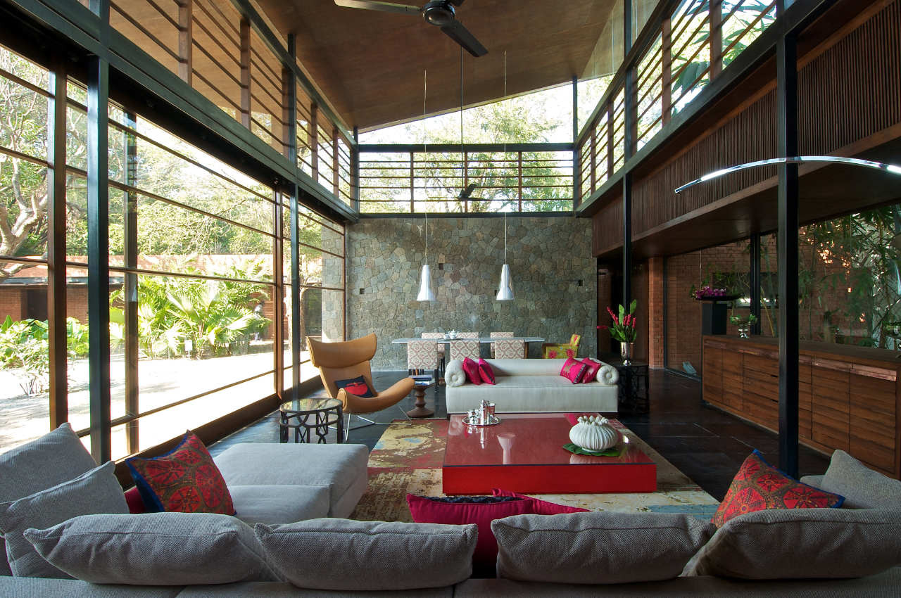 Gallery Of The Brick Kiln House Spasm Design Architects 4