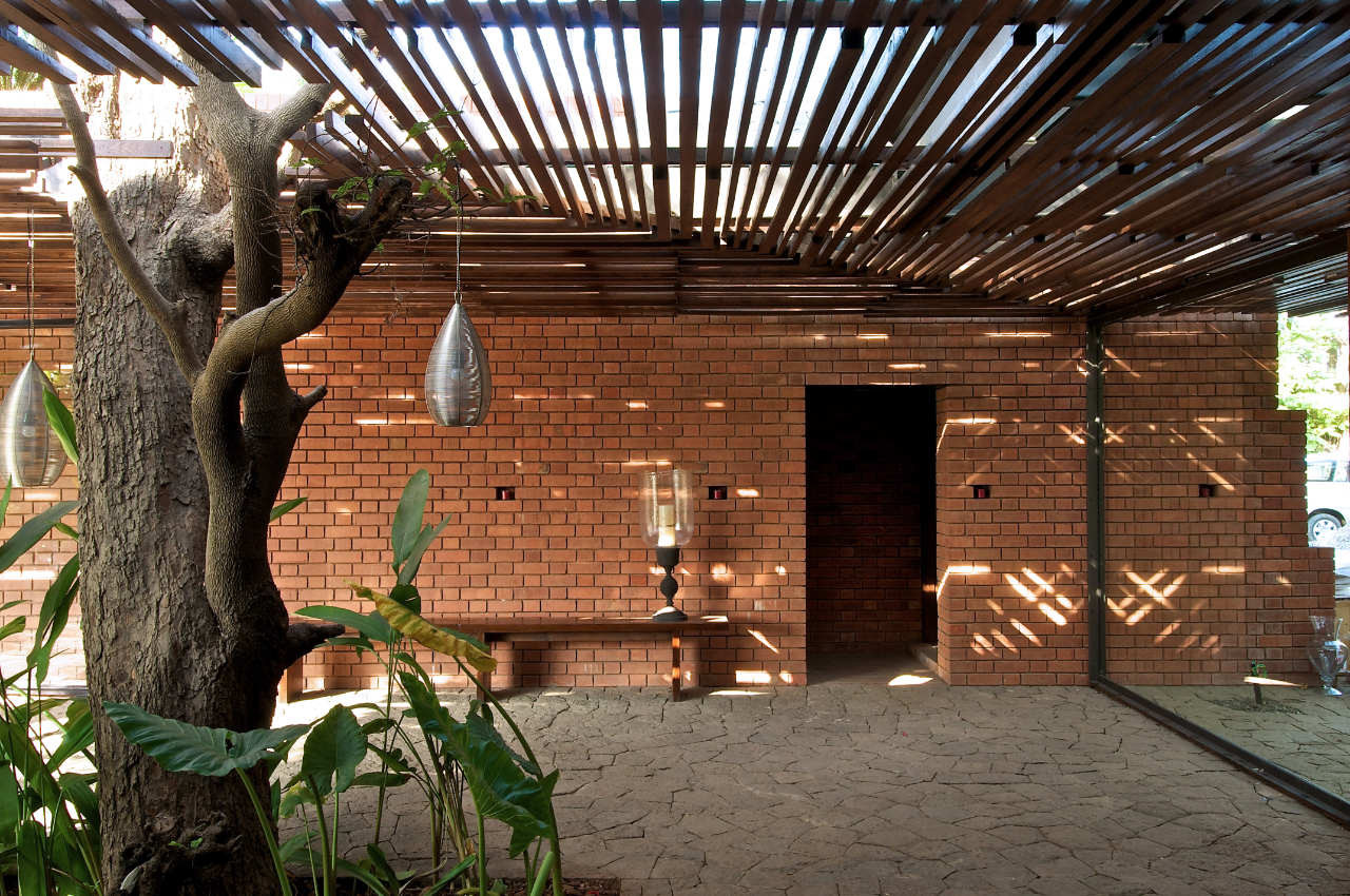 Gallery Of The Brick Kiln House Spasm Design Architects 9