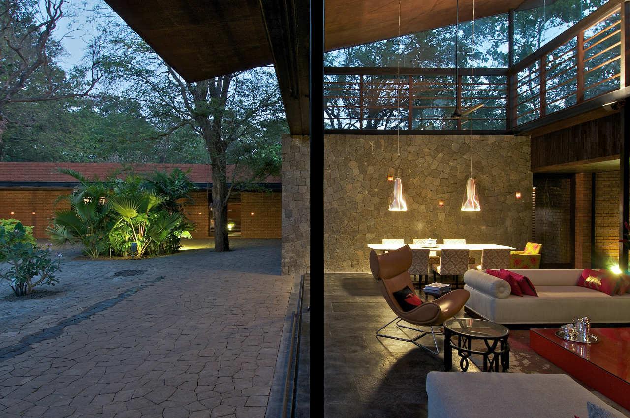 Gallery of The Brick Kiln House / SPASM Design Architects - 14 on brick steps design, house on stilts designs, brick interior design, house with roof terrace,