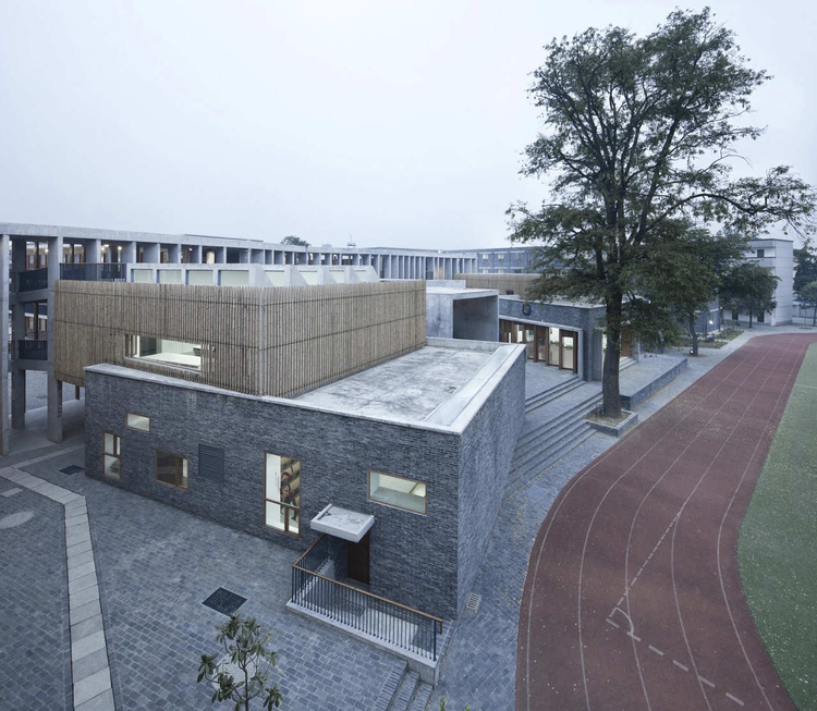 Xiaoquan Elementary School / TAO - Trace Architecture Office, © Yao Li