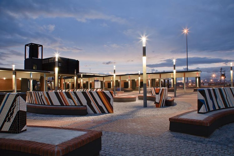 Kuyasa Transport Interchange / MEYER+VORSTER Architects, Courtesy of  meyer+vorster architects