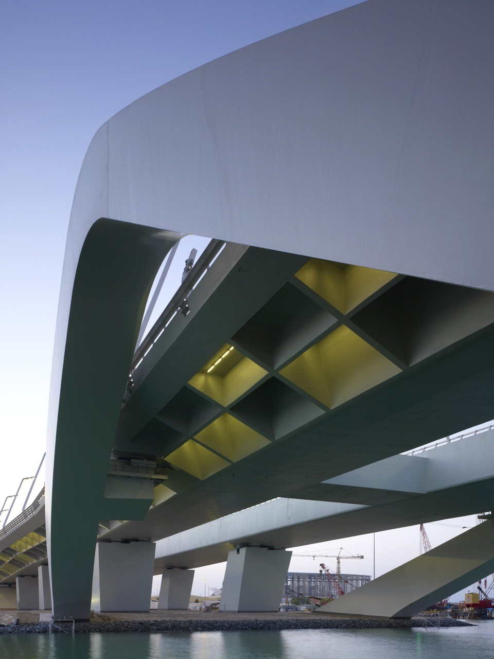 Sheikh Zayed Bridge Zaha Hadid Architects
