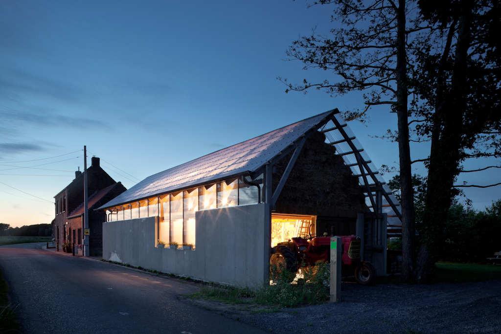 Schuurbain / Atelier Vens Vanbelle, © Tim Van De Velde