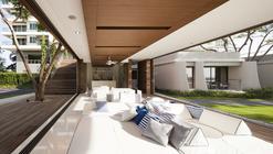 Baan San Kraam Sales Office / Somdoon Architects
