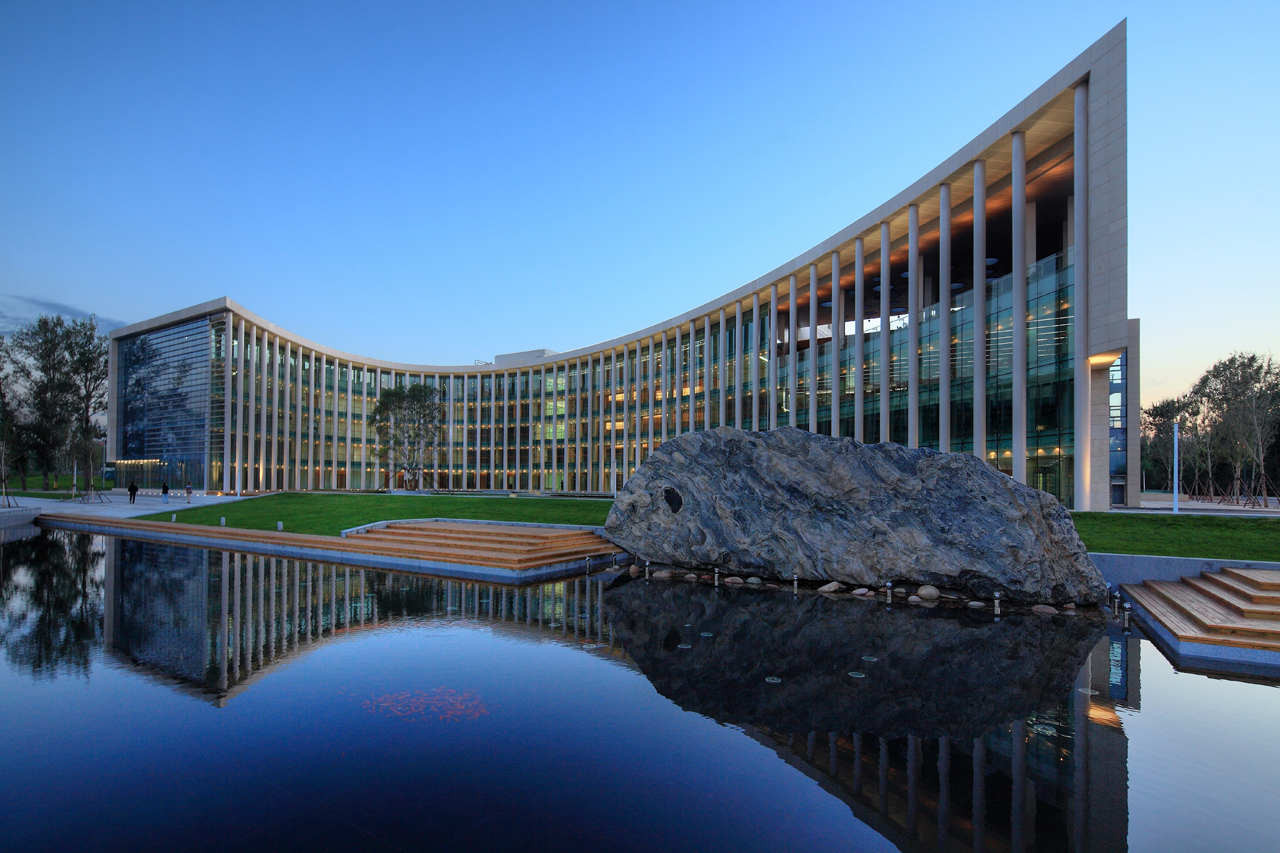 Haxi New District Office Building / ZNA, © Gao Han