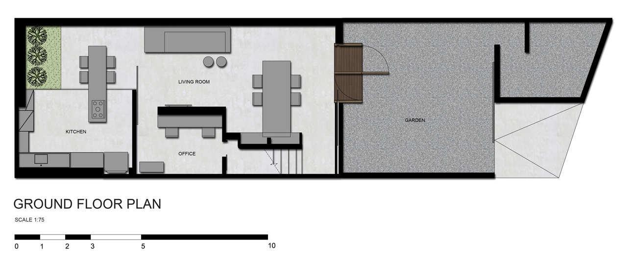Gallery of guilhermes home studio studio guilherme for Gt issa floor plans