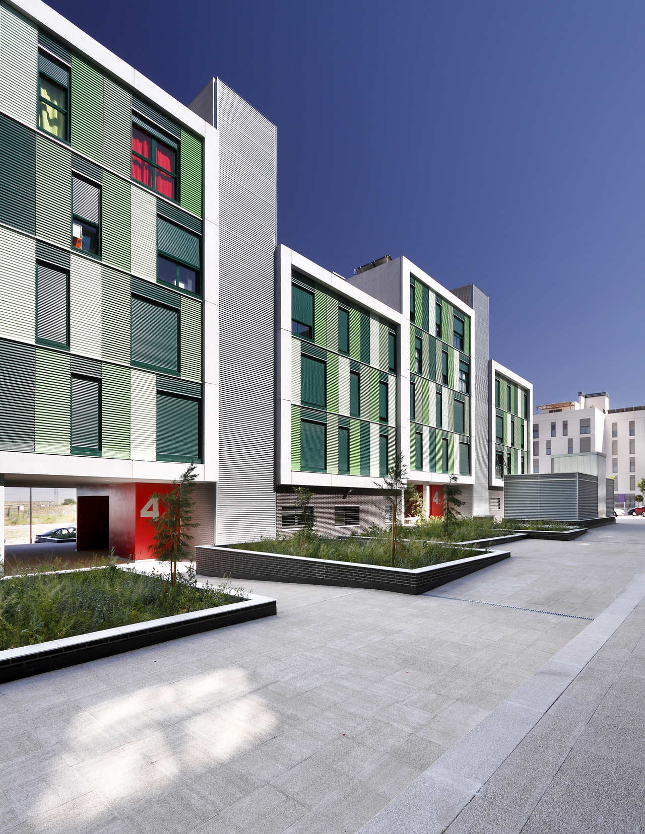 Gallery of 120 social housing in parla arquitecnica 6 for Best housing projects
