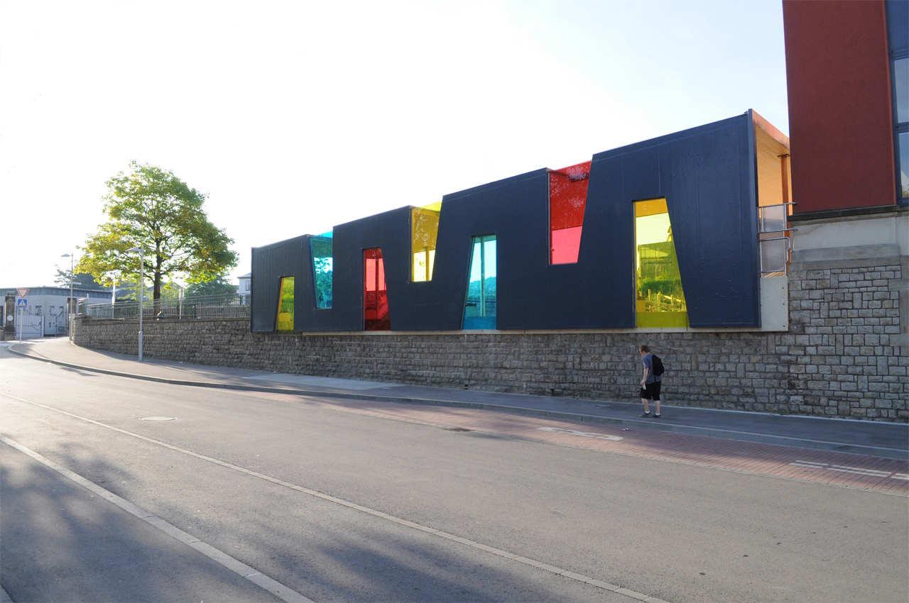 Schoolyard Pavilion / Holweck Bingen Architectes