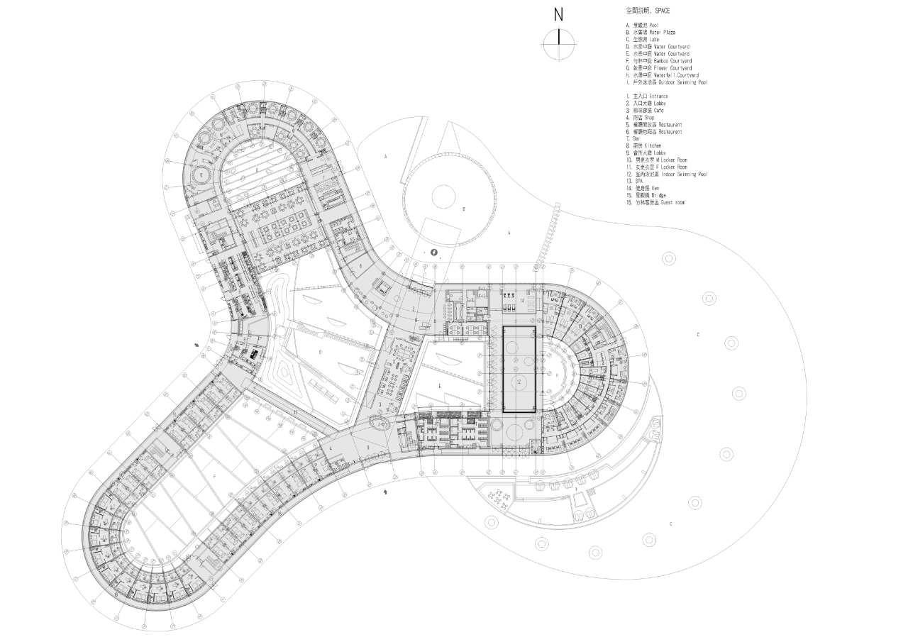 Gallery of Ming-Tang Hot Spring Resort / CT Design