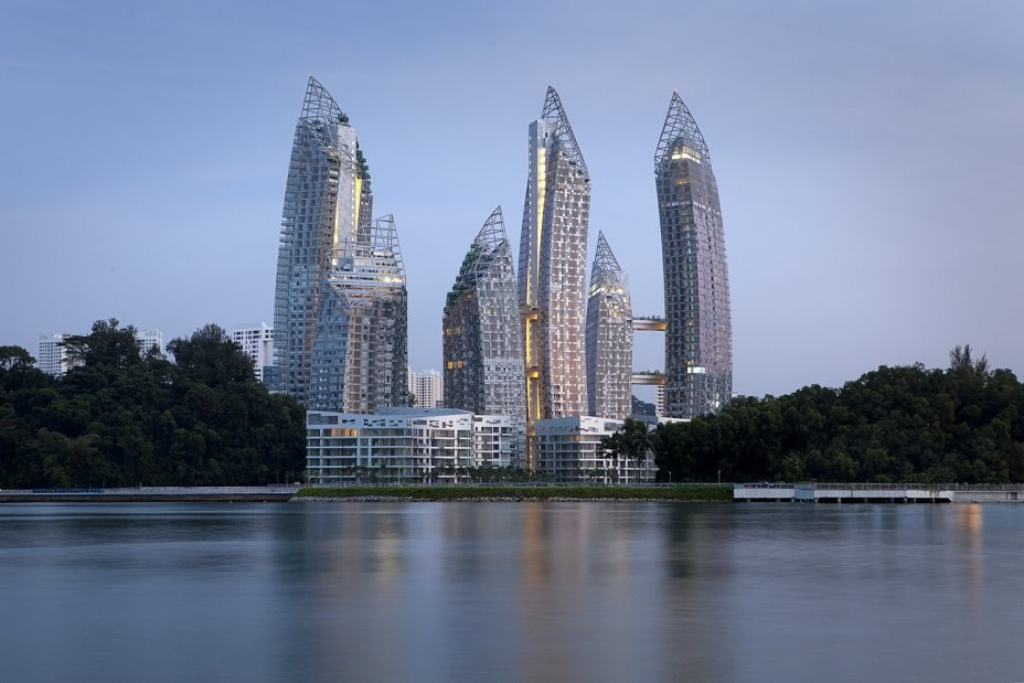Reflections / Daniel Libeskind, Courtesy of  keppel bay pte ltd-a