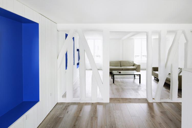 Refurbishment of a Paris Apartment / SWAN Architectes, © MVDA™ - Maxime Vantorre