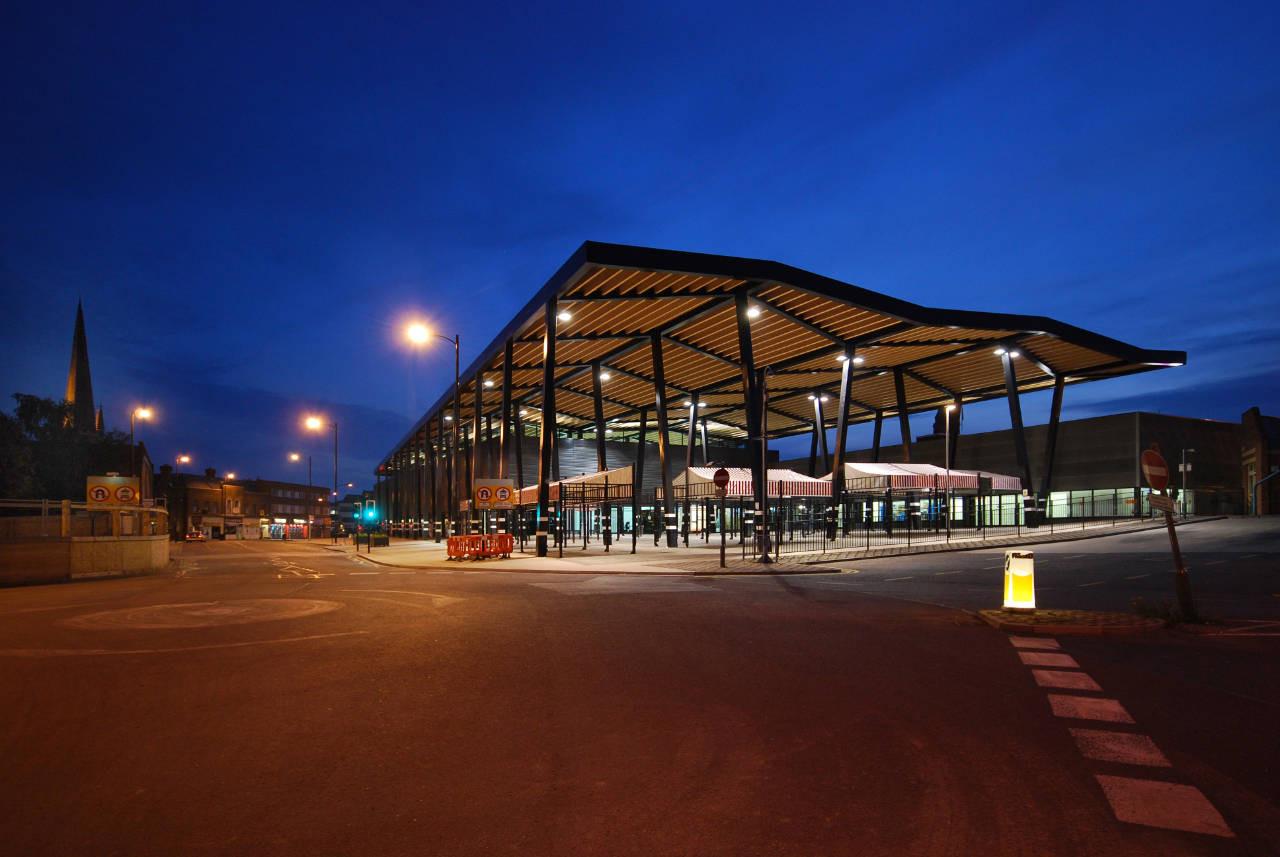 Wakefield Market Hall Adjaye Associates Archdaily