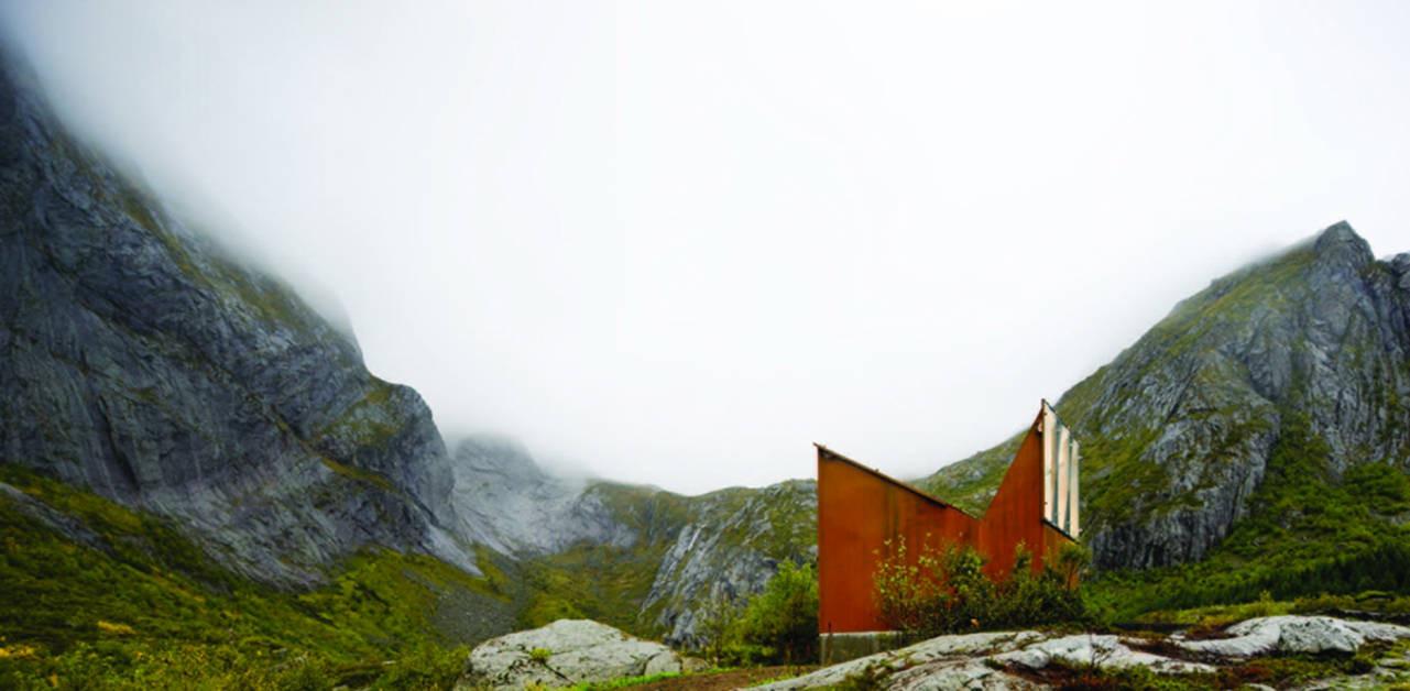 Reststop Akkarvikodden / Manthey Kula Architects, © Paul Warchol