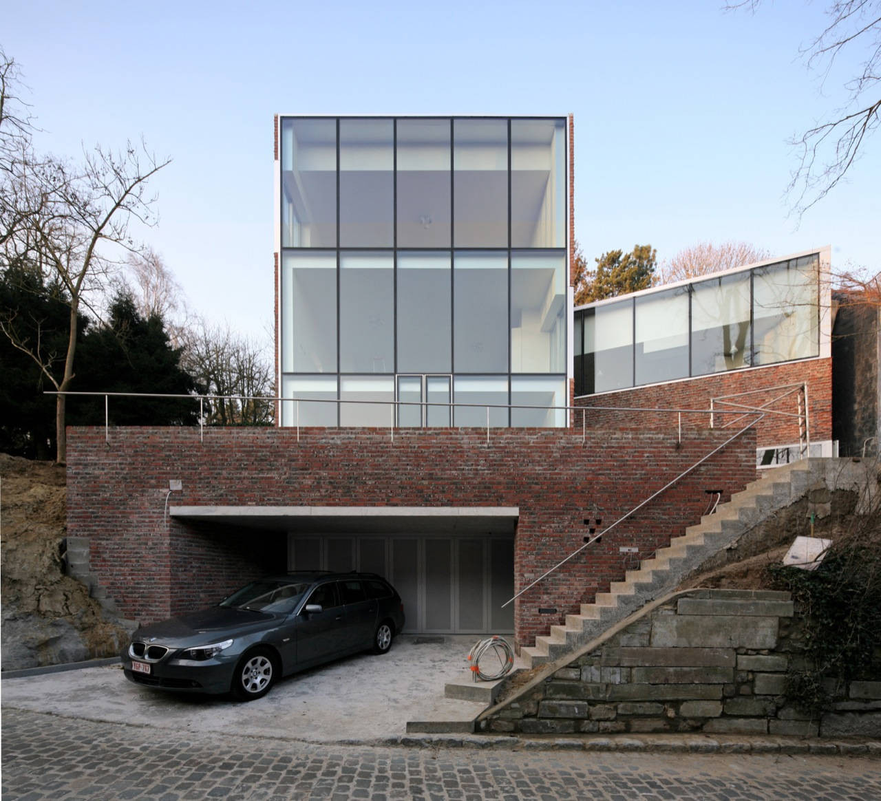 Stine gybels house pierre hebbelinck archdaily for Maison pierre