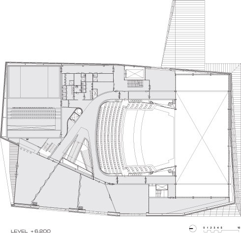 gallery of theatre agora unstudio 34. Black Bedroom Furniture Sets. Home Design Ideas